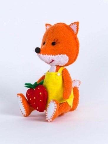 Набор Перловка для изготовления игрушки Лисичка ПФД-1056 в Ярославле