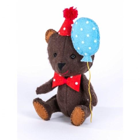 Набор Перловка для изготовления игрушки Happy Мишка ПФД-1051 в Ярославле