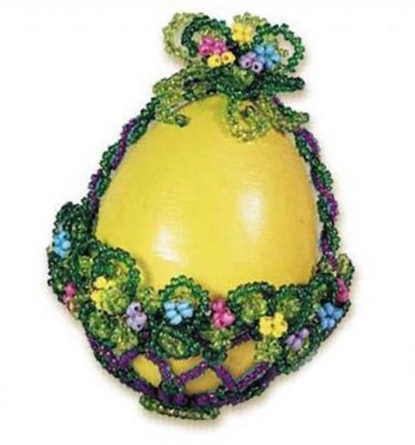 Набор Riolis Premium для бисероплетения Яйцо-корзинка Б015 в Ярославле