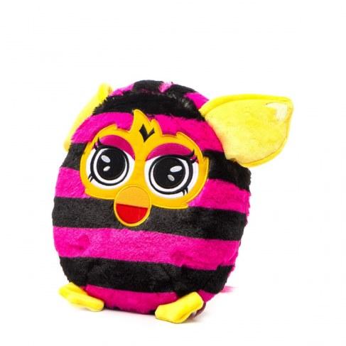 Мягкая игрушка 1toy Furby в полоску (подушка) 30 см Т57472 в Ярославле