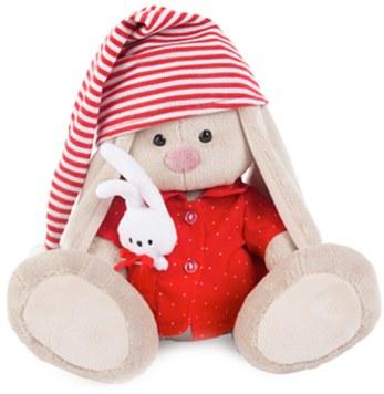 Мягкая игрушка Зайка Ми в красной пижаме 23 см SidM-158 в Ярославле