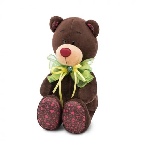 Мягкая игрушка Orange Медведь Зелёный бант Choco&Milk 20 С016/20 в Ярославле