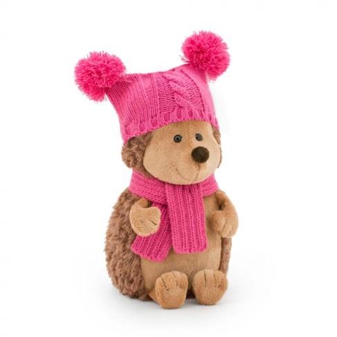 Мягкая игрушка Orange Ежиха Колючка в шапке с двумя помпонами 26 см OS607/26 в Ярославле