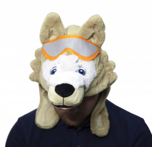 Мягкая игрушка 1toy шапка Волк Забивака Т11017 в Ярославле