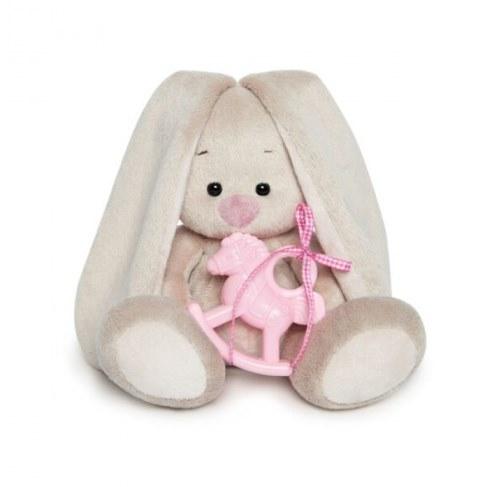 Мягкая игрушка Зайка Ми с розовой лошадкой 15 см SidX-229 в Ярославле