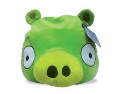 Мягкая игрушка Angry Birds зеленая свинка Green Pig 30 см АВС12 в Ярославле