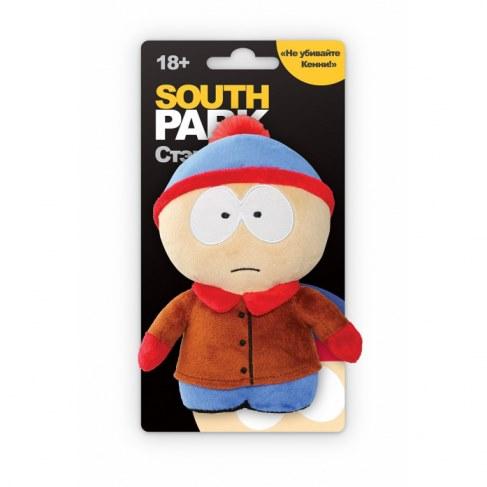 Мягкая игрушка 1toy Южный парк Стэн 12см с чипом Т57485 в Ярославле