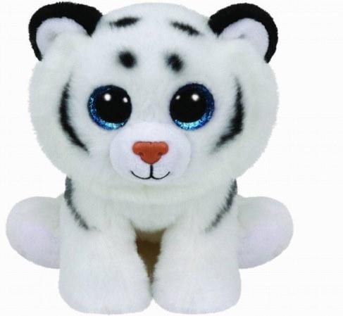 Мягкая игрушка TY Тигренок белый Tundra 25 см 90219 в Ярославле