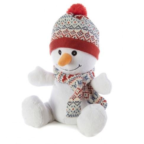 Мягкая игрушка WARMIES Снеговик, грелка CP-SNO-1 в Ярославле