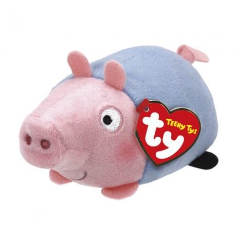 Мягкая игрушка Teeny Tys Свинка 42176 Джордж в Ярославле