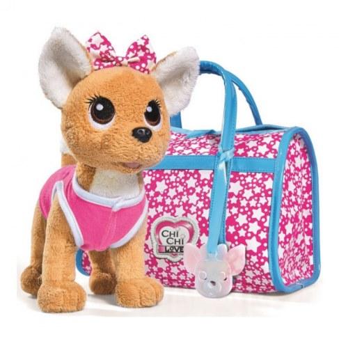 Мягкая игрушка Simba Плюшевая собачка Chi-Chi love - Звездный стиль с сумочкой 5893115 в Ярославле