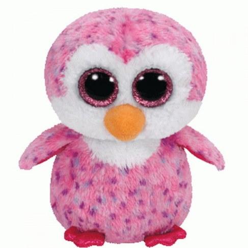 Мягкая игрушка TY Пингвин Glider розовый 36177 в Ярославле