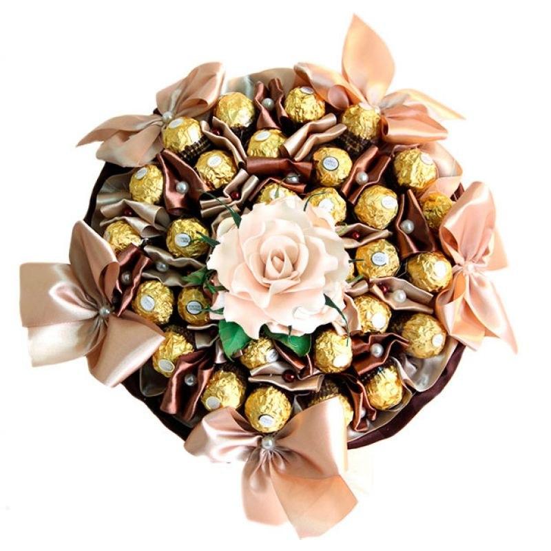 Купить недорого букет из конфет