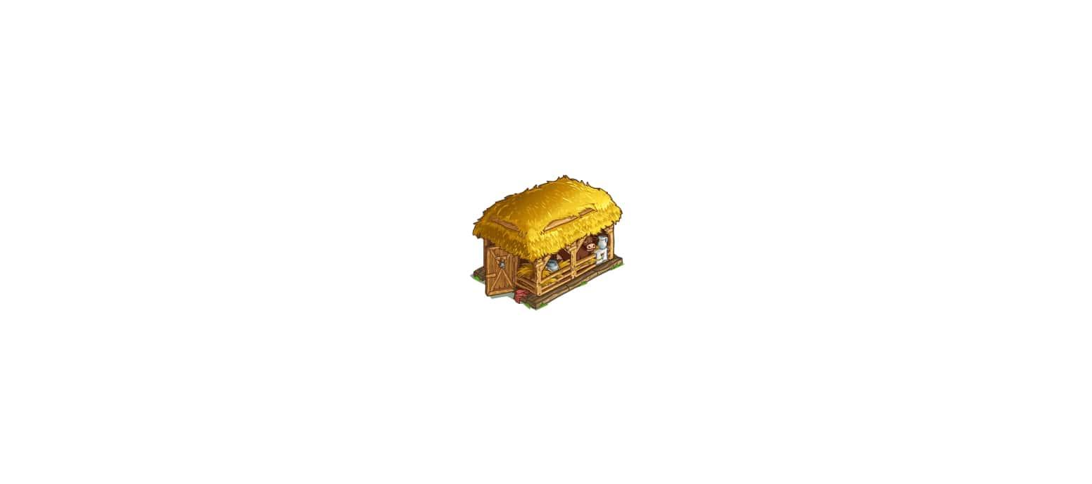 Здание для коз